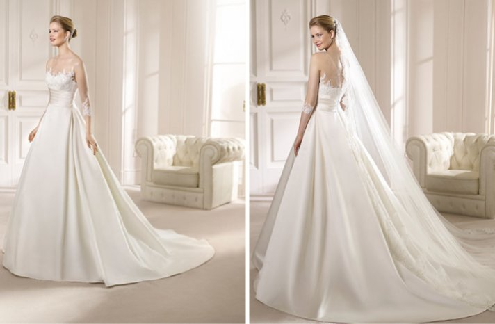 San Patrick Wedding Dress 2013 Bridal Costura collection Alegria 1