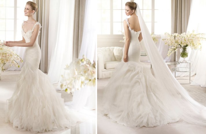 2013 wedding dress by San Patrick Arola