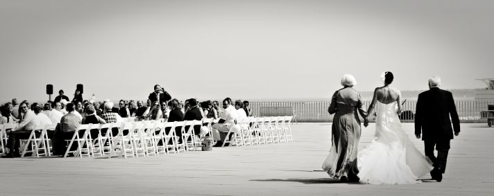 Milwaukee Wedding Outdoor Venue Ceremony Moment