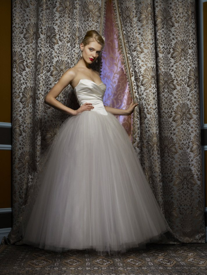 Wedding dress by Birnbaum and Bullock 2013 Bridal Summer