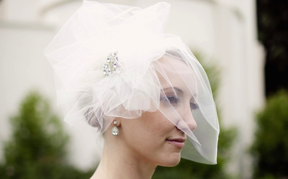 Types of Wedding Veils - Pouf Veils