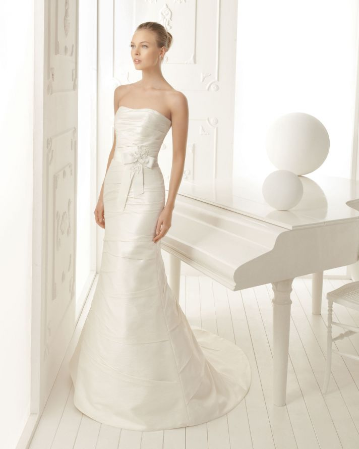 Aire Barcelona Wedding Dress 2013 Vintage Bridal Collection Valery
