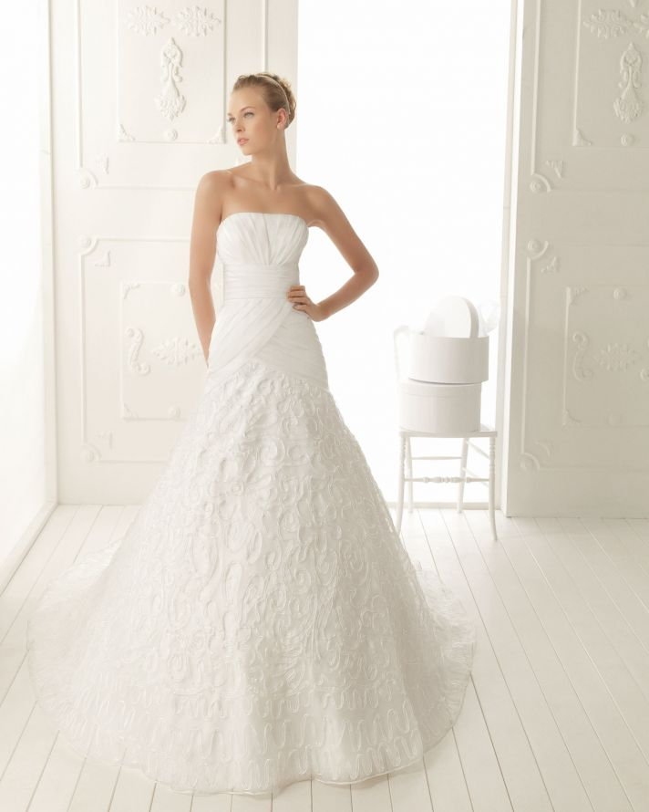 2013 wedding dress Aire Vintage Vertice