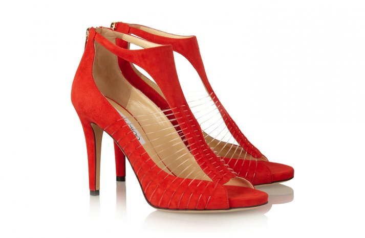 Illusion wedding shoes 1