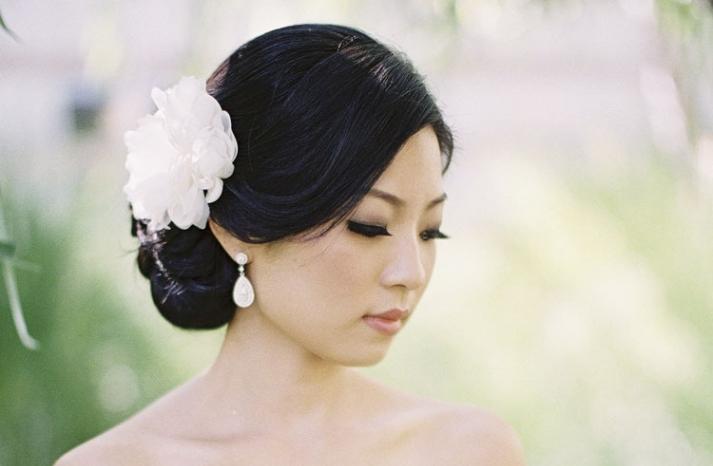 Silky Smooth Wedding Updos 1