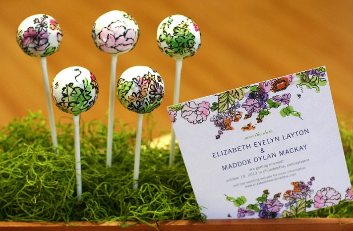 Wedding cake alternatives Cake Pops 3