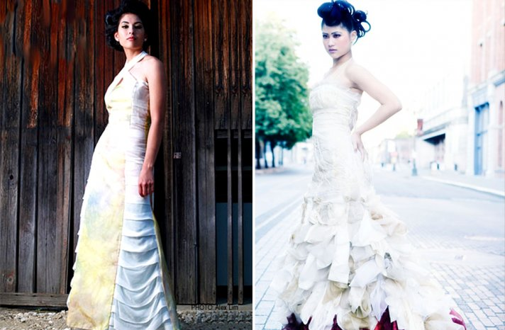 Unique bridal gowns by Chrissie Wai Ching