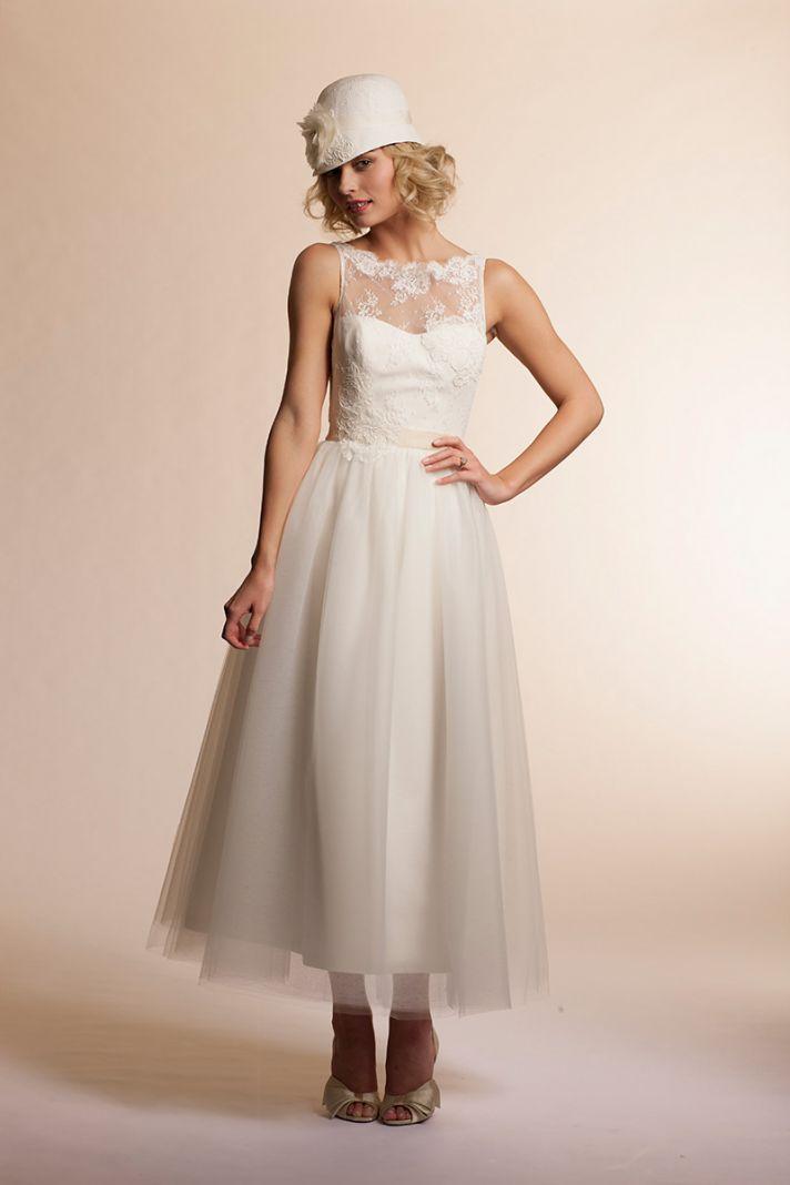 2013 wedding dress by Amy Kuschel Bridal Mimosa