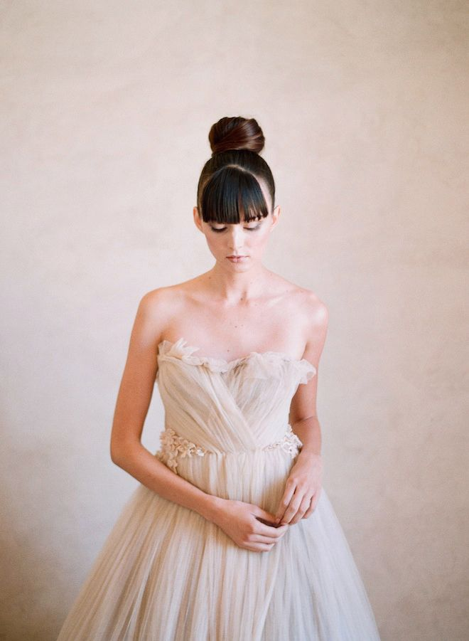 Wedding Hairstyle To Know - The Top Knot | OneWed