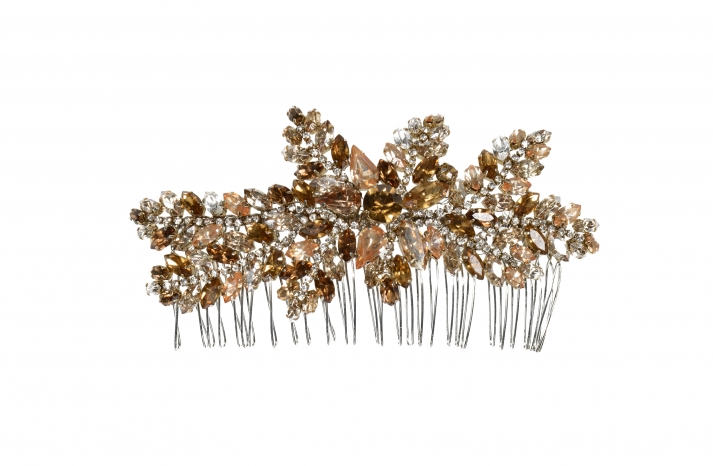 Jenny Packham Wedding Accessories Spring 14 Bridal topaz hair comb