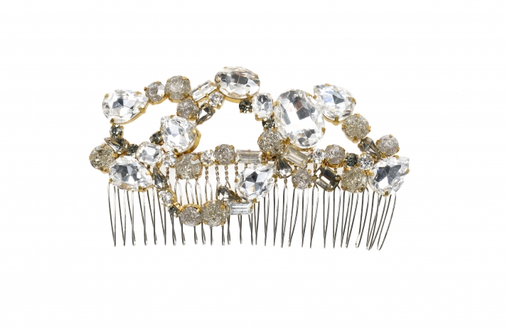 Jenny Packham Wedding Accessories Spring 14 Bridal lava hair comb