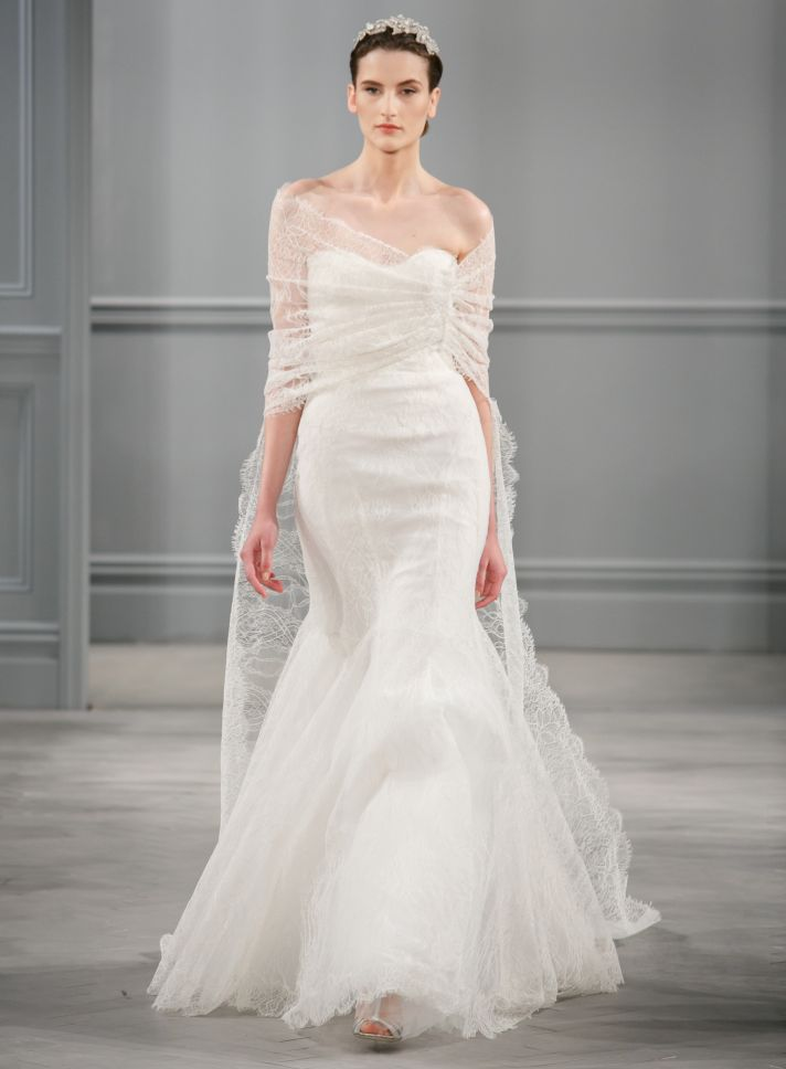 Spring 2017 Wedding Dress Monique Lhuillier Bridal Intrigue