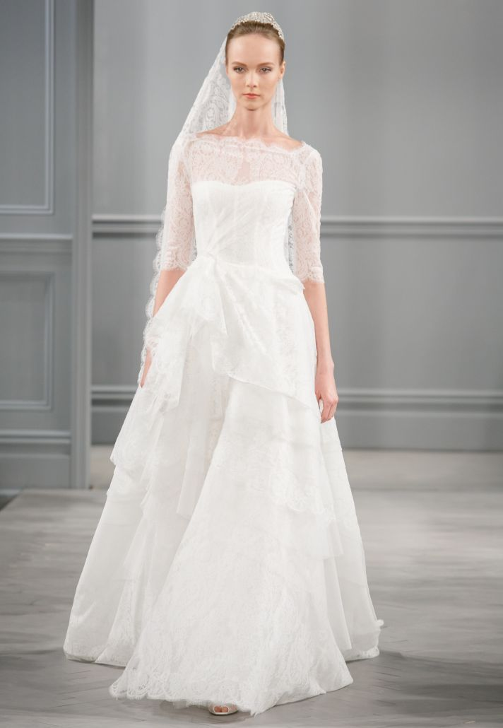 Spring 2014 Wedding Dress Monique Lhuillier Bridal Monaco