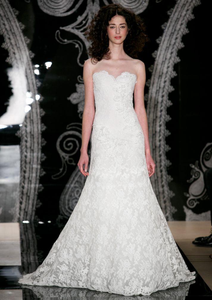 Reem Acra Wedding Dress Spring 2014 Bridal Thais