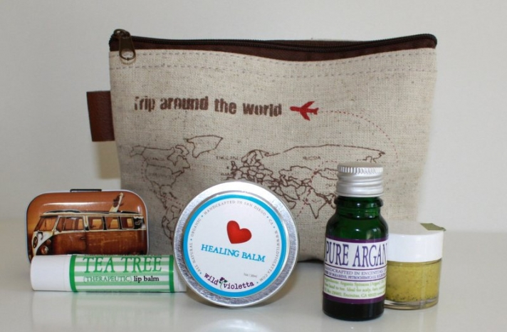 Mothers Day travel healing kit