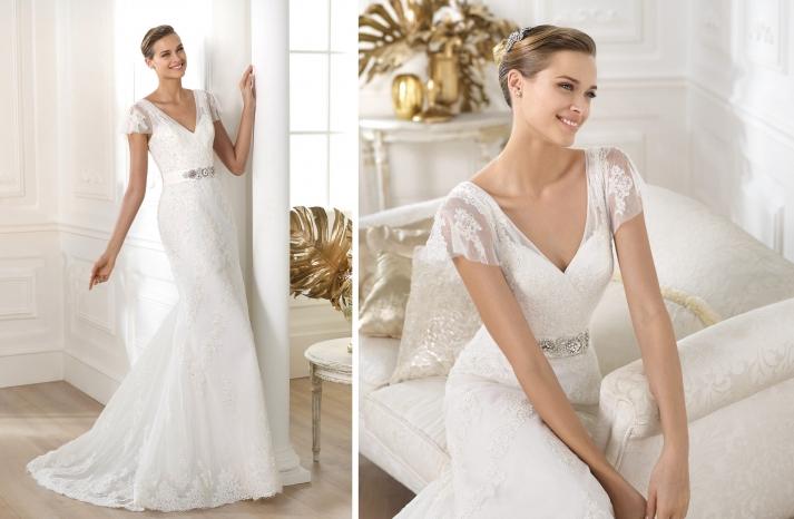 2014 Bridal Pre Collection Pronovias Costura Wedding Dress Lianela
