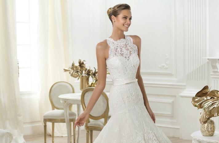 Lenix wedding dress by Pronovias