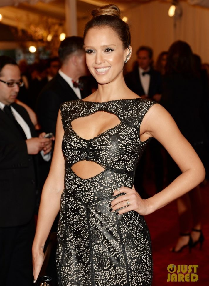 Jessica Alba Met Ball 2013 Bridal Beauty Wedding Hair