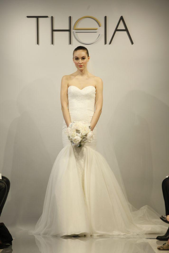 Theia Spring2014 wedding dress bridal gown Faith