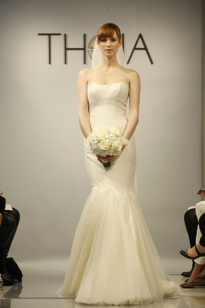Theia Spring2014 wedding dress bridal gown Isabella