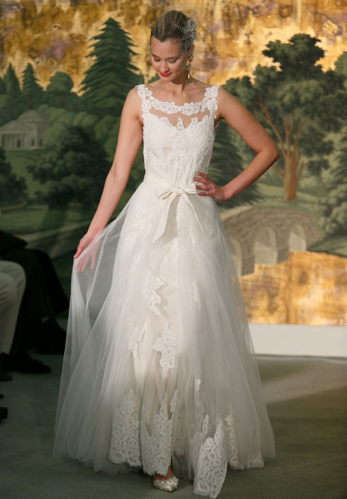 Wedding dress by Anne Barge Spring 2014 Bridal Marguerite