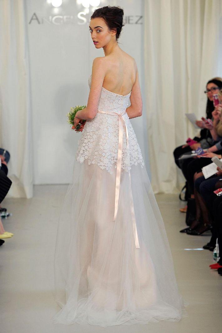 Angel Sanchez wedding dress Spring 2014 Bridal 6