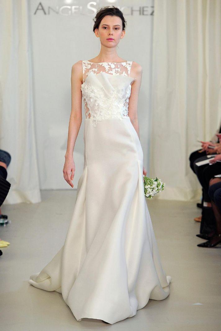 Angel Sanchez wedding dress Spring 2014 Bridal 11
