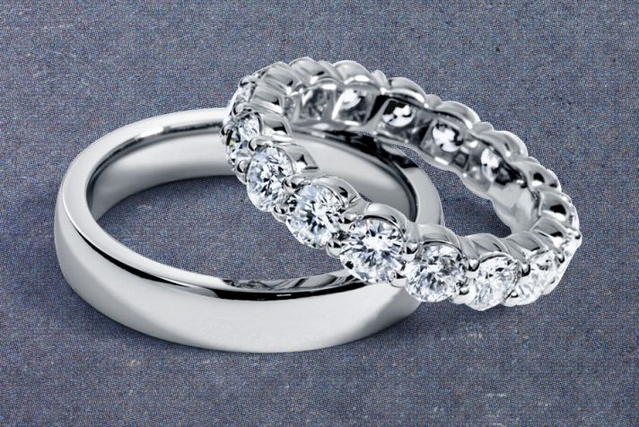 diamond rings vintage wedding bands platinum dresses