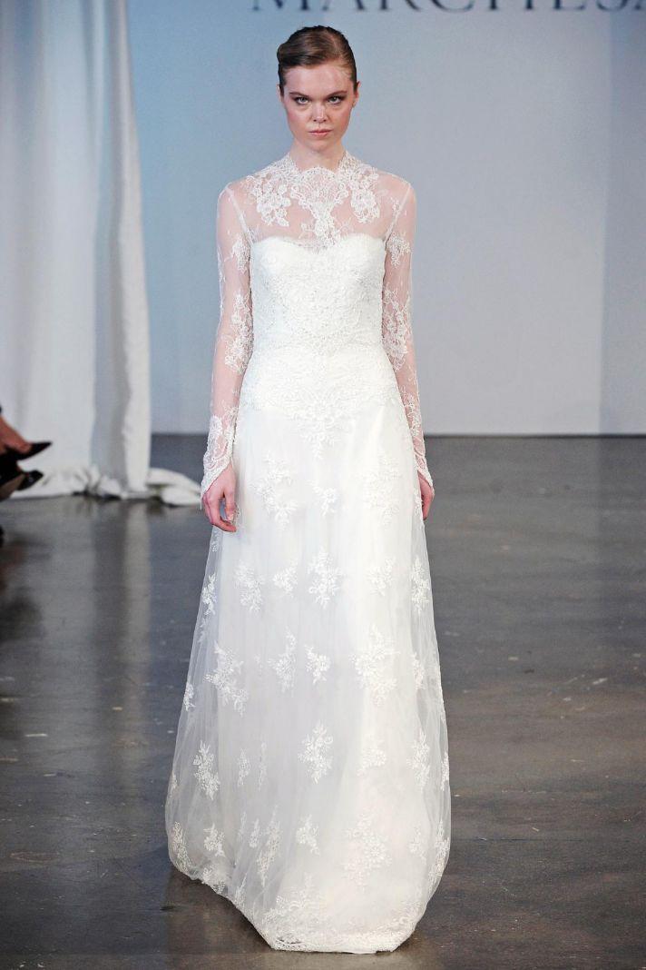 Marchesa wedding dress Spring 2014 bridal 9