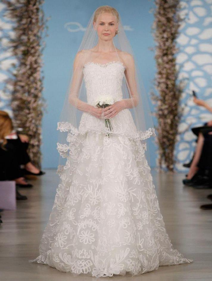 Wedding Dress by Oscar de la Renta Spring 2014 Bridal 19