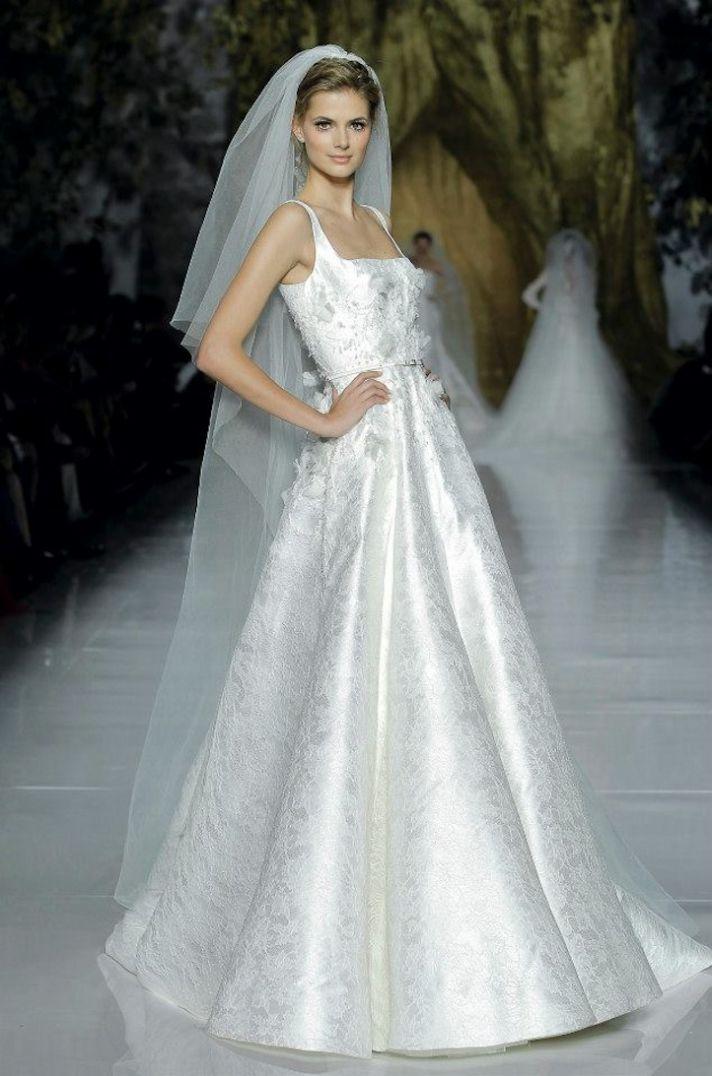Elie Saab Wedding Dress 2014 Pronovias Bridal 6