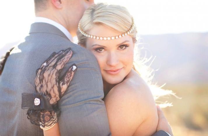 crystal and gold wedding headband tiara
