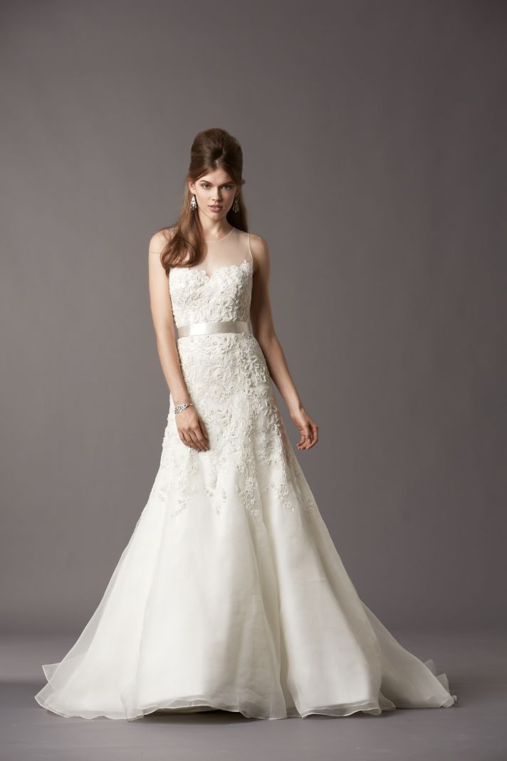 Watters Bridal Gowns Fall 2013 Wedding Dress 4071B