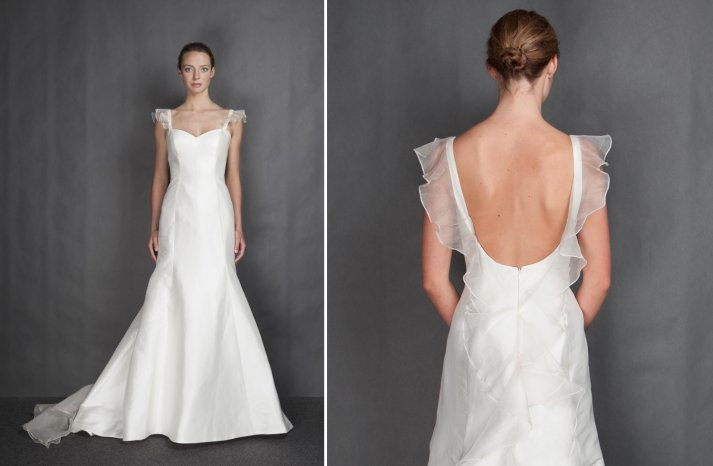 Heidi Elnora wedding dress Spring 2014 Bridal Angela Jett