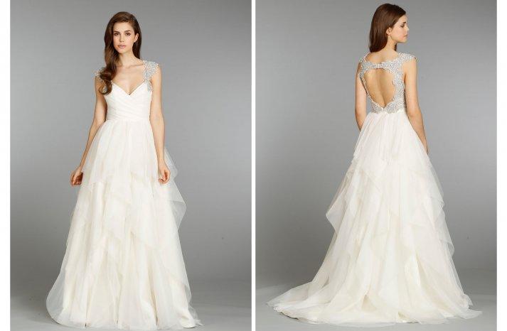 Hayley Paige wedding dress Fall 2013 Bridal 6350