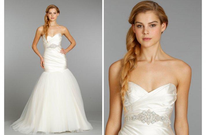 Hayley Paige wedding dress Fall 2013 Bridal 6354