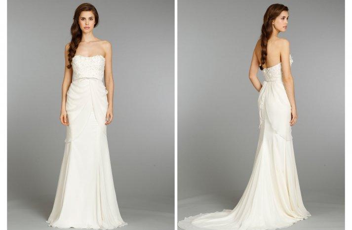 Hayley Paige wedding dress Fall 2013 Bridal 6359