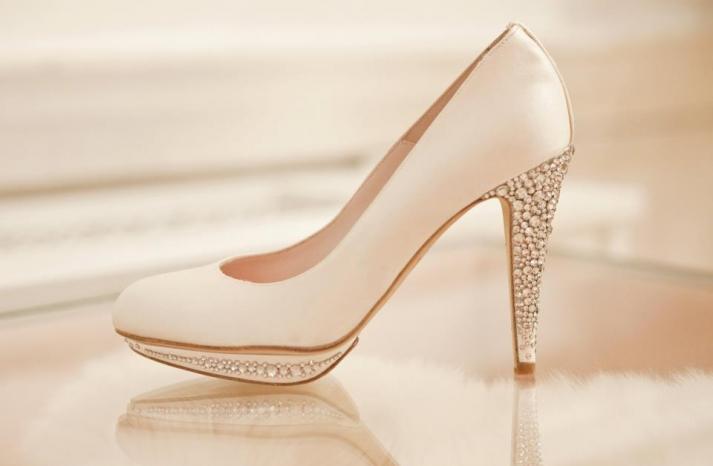 Wedding shoes by Harriet Wilde bridal heels 10