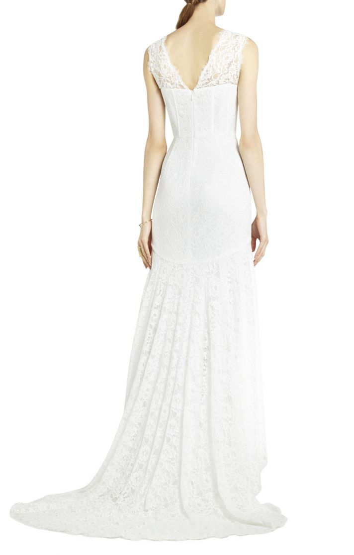 BCBG wedding dress Max Azria Bridal Clarissa
