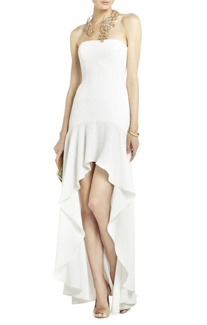 15 budget friendly wedding gowns high on style bcbg wedding dress max azria bridal evangelina junglespirit Choice Image