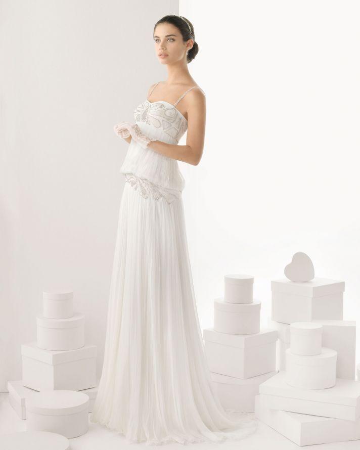 Rosa Clara wedding dress 2014 bridal Carol