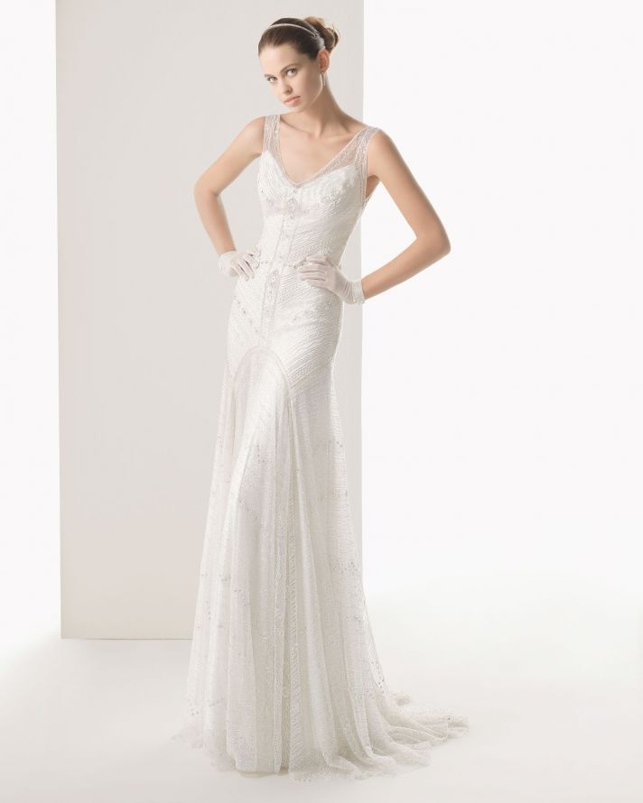 rosa clara wedding dress 2014 bridal copla