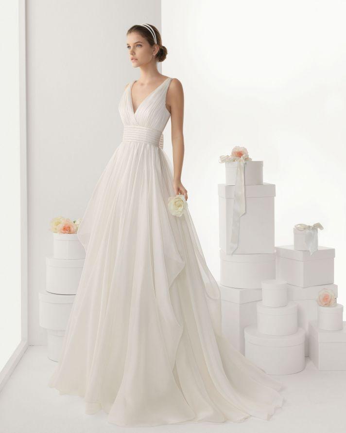 Rosa Clara wedding dress 2014 bridal Cantabria
