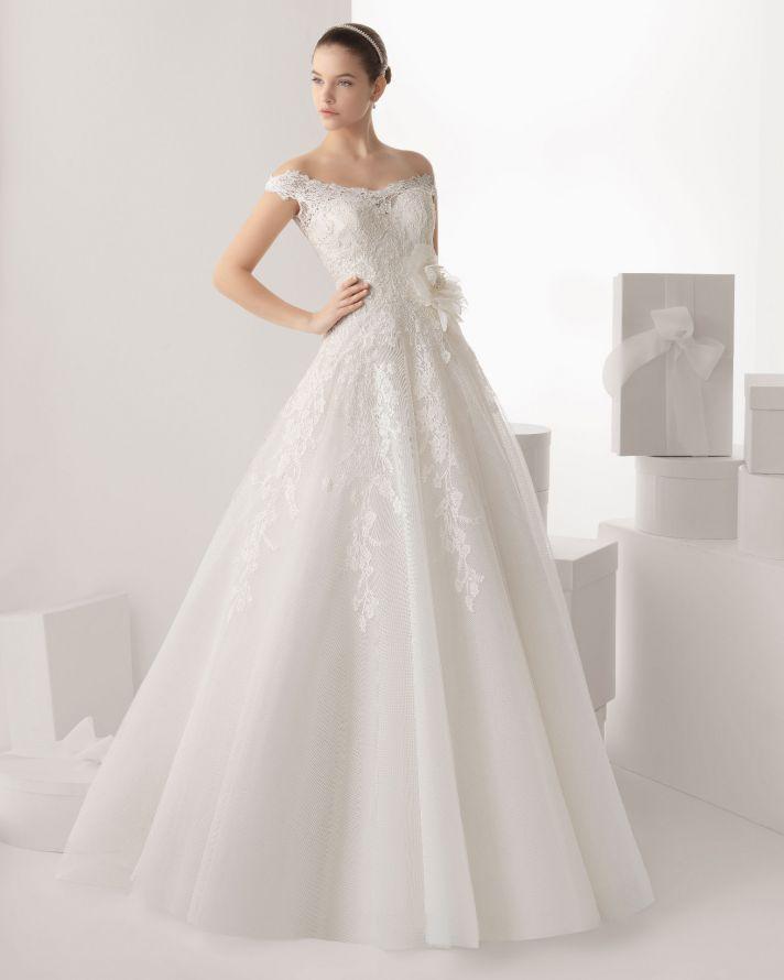 Rosa Clara wedding dress 2014 bridal Carmona