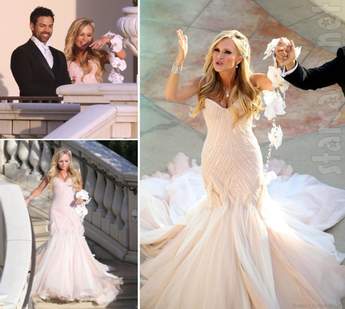 Celebrity weddings Summer 2013 Tamra Barney Eddie Judge