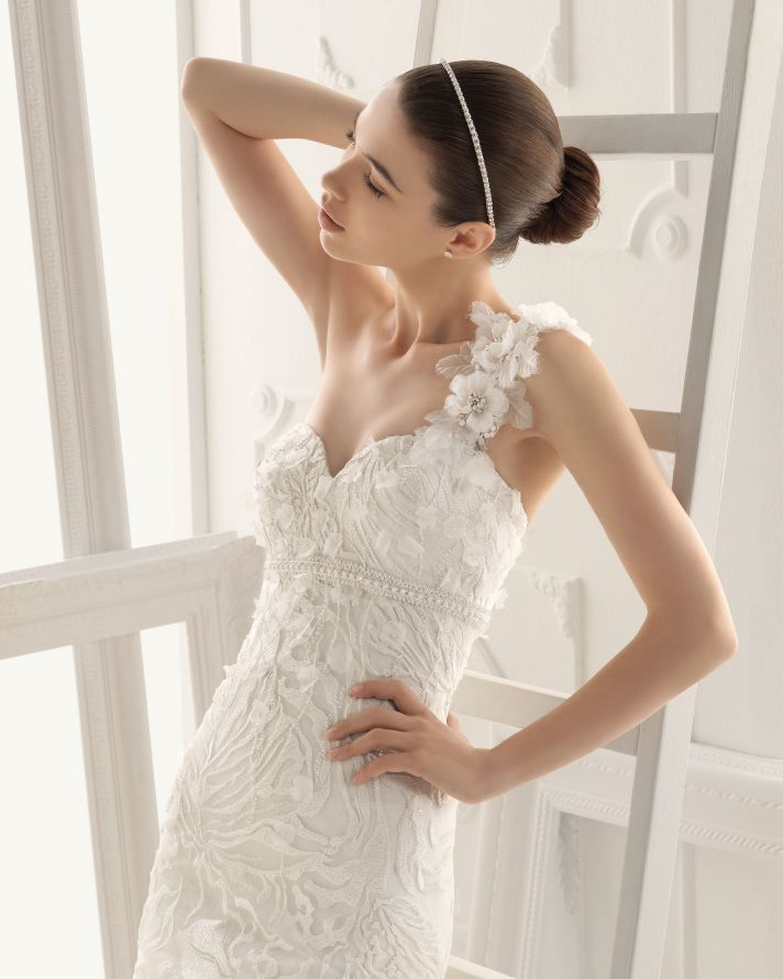Aire Barcelona wedding dress 2014 Bridal Olaf