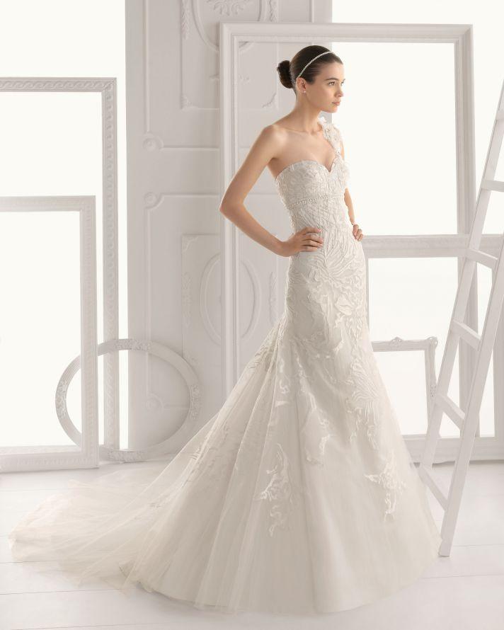Aire Barcelona wedding dress 2014 Bridal Olaf