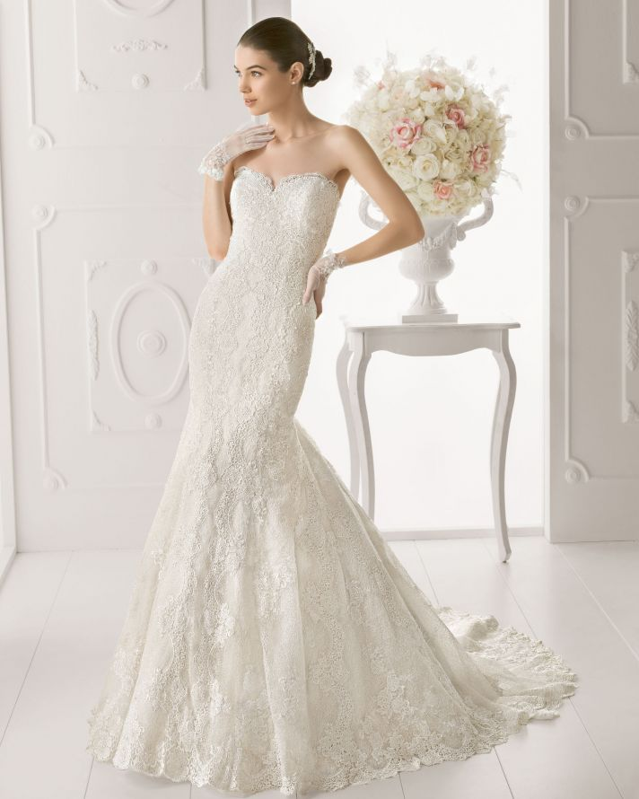 Aire Barcelona wedding dress 2014 Bridal Osiris