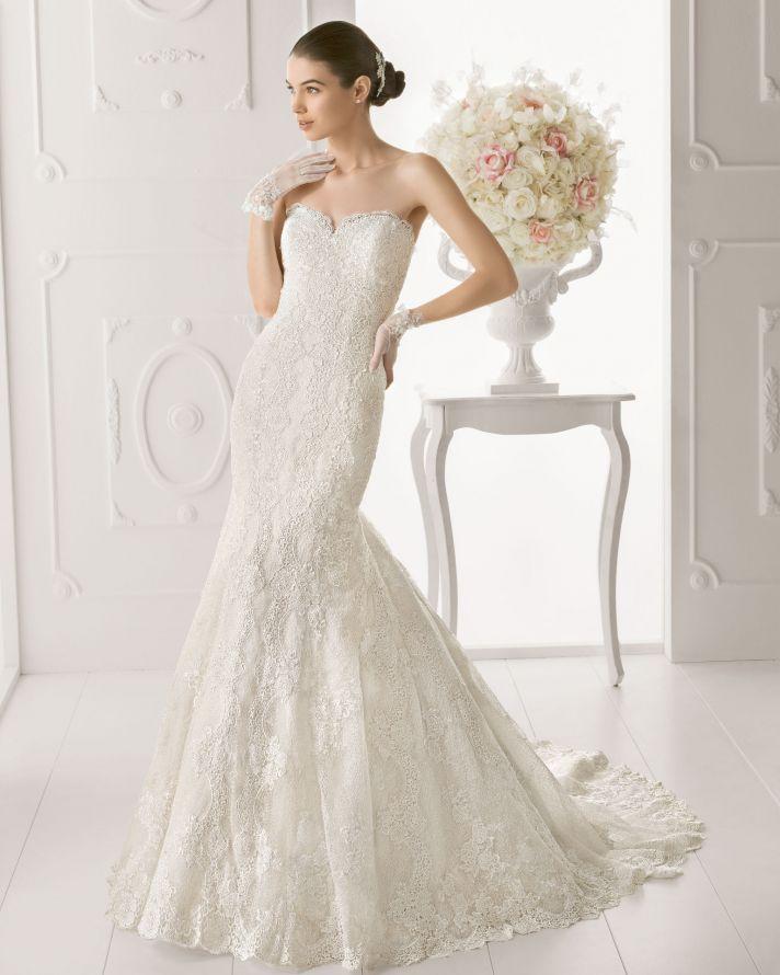 Aire Barcelona wedding dress 2014 Bridal Osiris