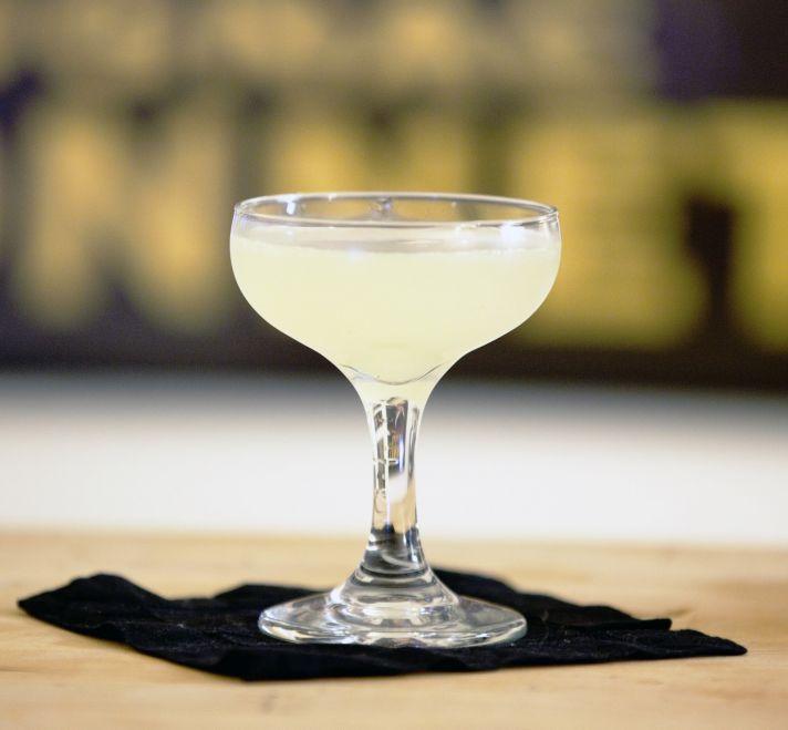 White lady signature wedding drink